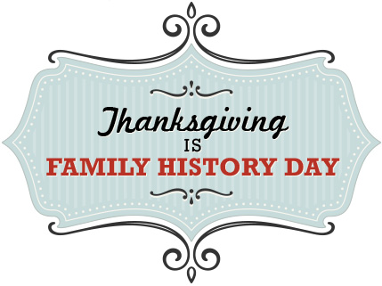 Family History Day Sign